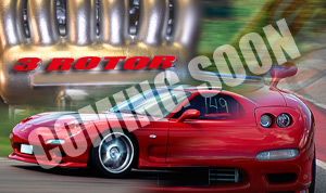 GZON &#8221;20B POWERED THREE ROTOR&#8221; RX-7
