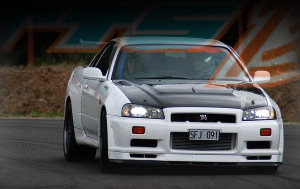 "Superior ""TIME ATTACK"" Skyline BNR34 GT-R"