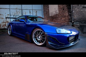 Photoshoot: Superior Widebody Supra – av Lukas Bramstedt