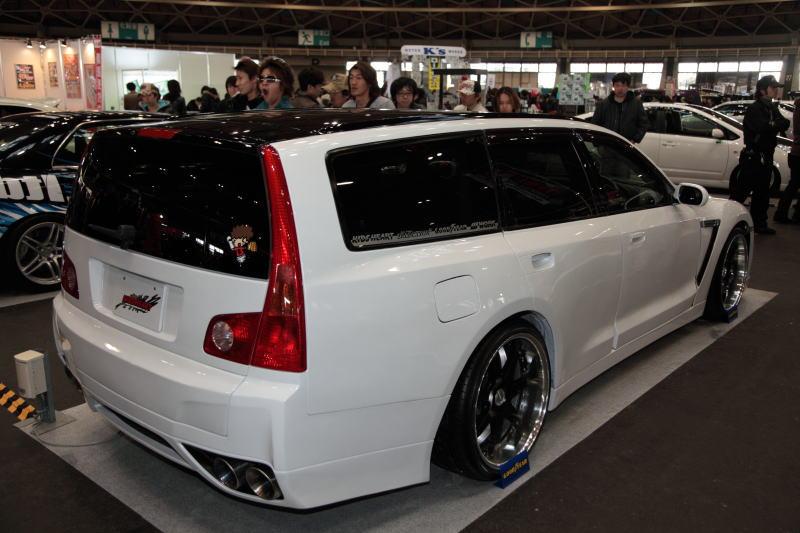Nissan Stagea Gt R Wagon Koncept P 229 Nagoya 2009