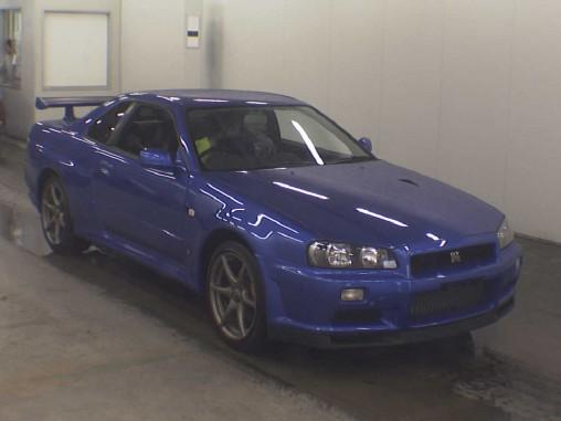 BNR34 GTR vspec nur front