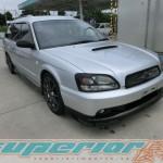 """""""Andra generationens"""" Superior importörer? Peter inne på JDM-bil #2 med Subaru Legacy GT-B -02"""