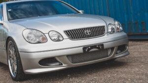 (SÅLD!) Toyota Aristo 2JZ-GTE VVTi 2003 Facelift (4-dörrars Supra)